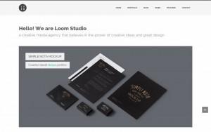 Plantilla de WordPress: Loom