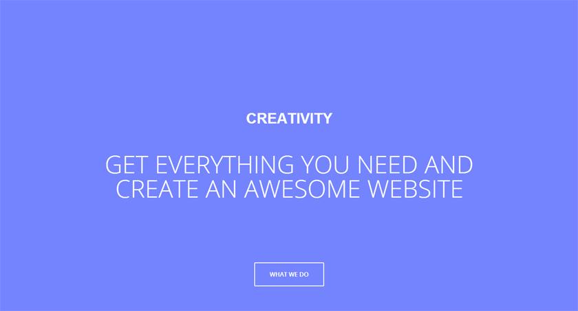 Cómo montar una web muy visual sin usar fotografías