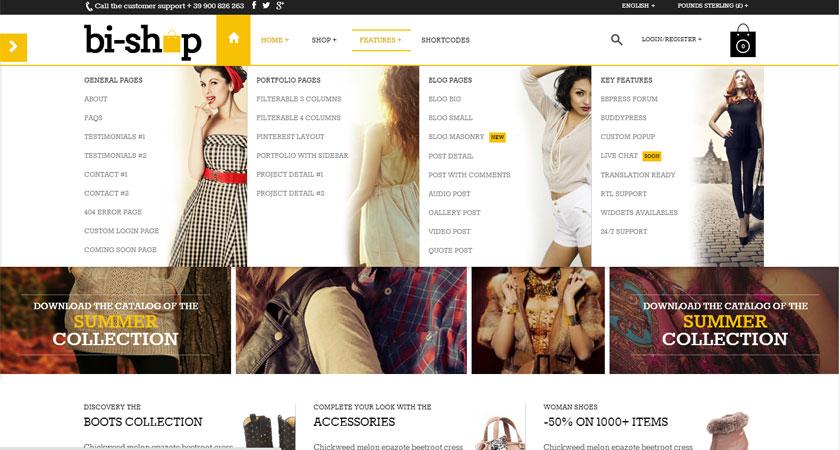 Tendencias en diseño web: el megamenú gana terreno