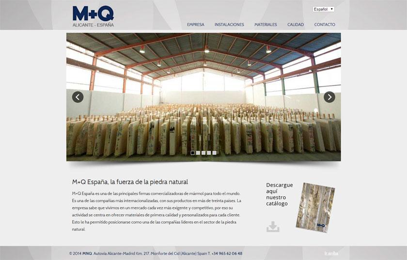 M+Q España refuerza su presencia internacional con una web en cuatro idiomas