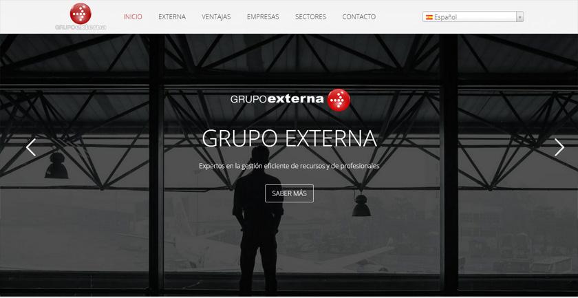 El Grupo Externa apuesta por el dinamismo y el contenido en su nueva página web
