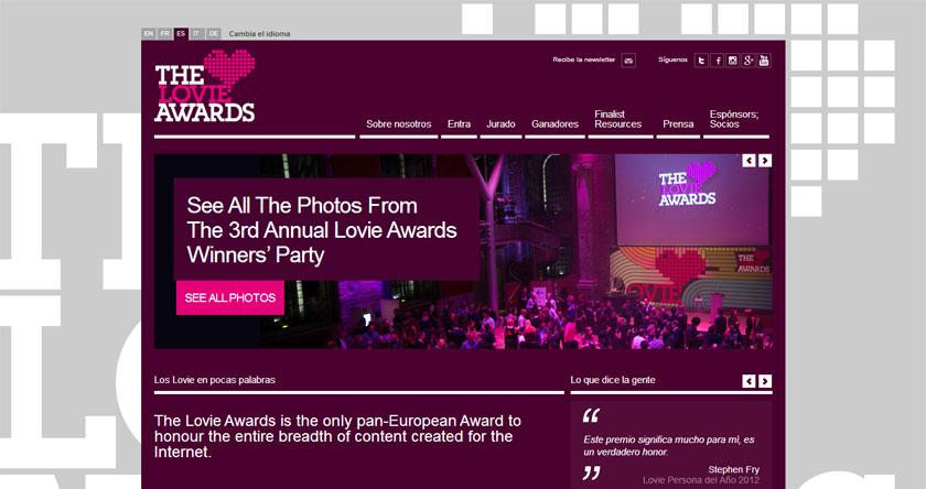 WordPress demuestra su poderío en los premios a las mejores webs europeas