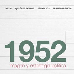 1952 Imagen <br>y Estrategia Política