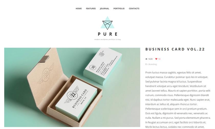 Las tres plantillas WordPress (gratis) de la semana: Pure, Espied y ...