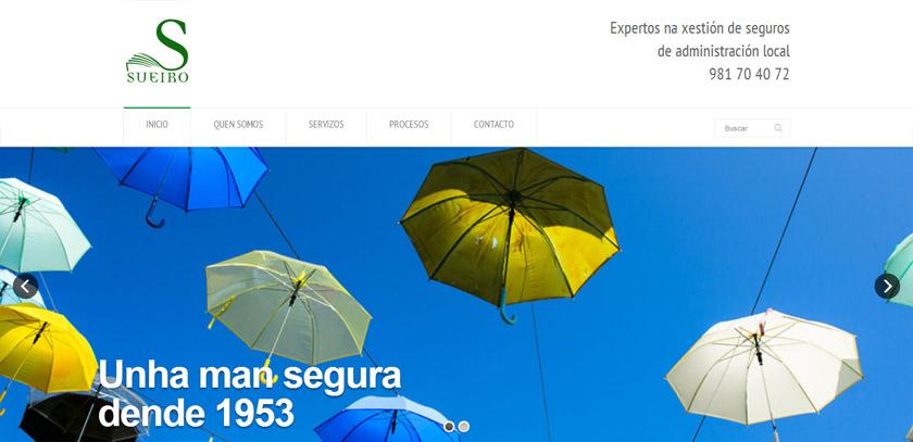 Sueiro presenta su área institucional en una moderna web informativa