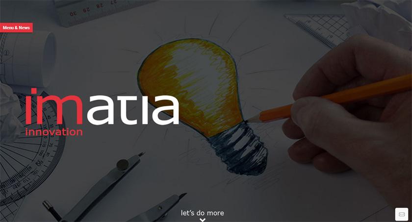 Imatia rediseña su web para ofrecer un viaje intuitivo por los servicios de una empresa de software de referencia