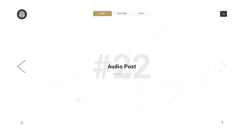 Las tres plantillas WordPress de la semana: Thoughts, Tenden y Photographer