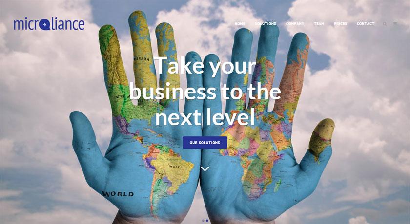 Microliance rediseña su web con una moderna presentación de sus soluciones de gestión empresarial