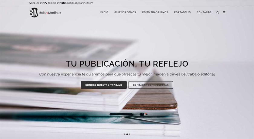 Un diseño al servicio de un mensaje claro para una joven empresa editorial