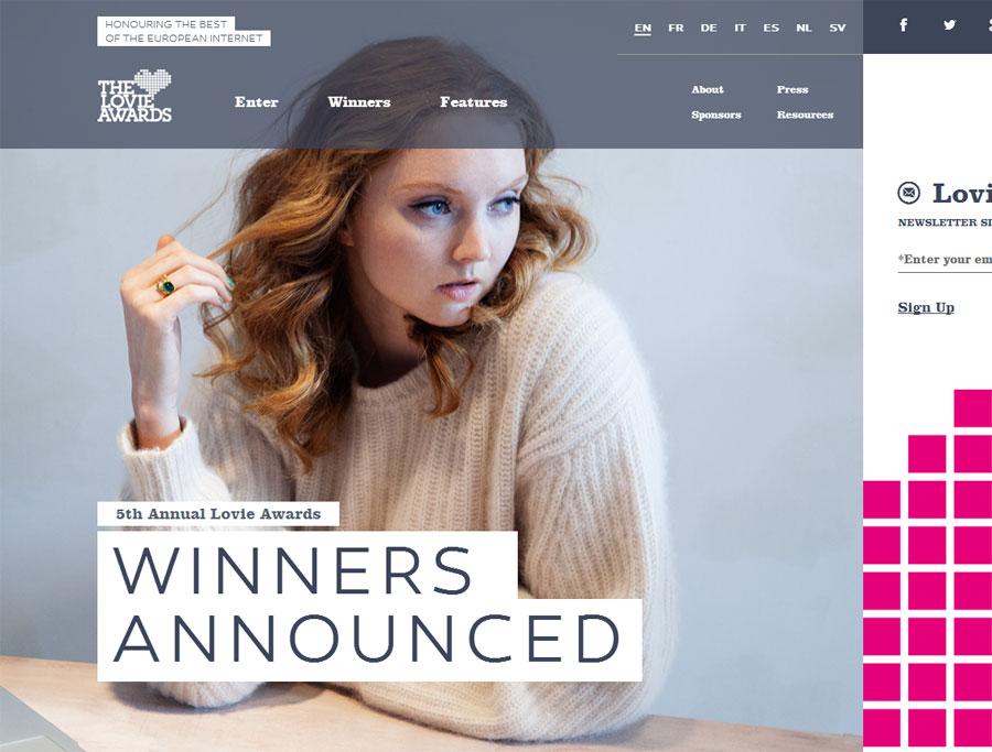 WordPress convence más al público que al jurado de los Lovie Awards