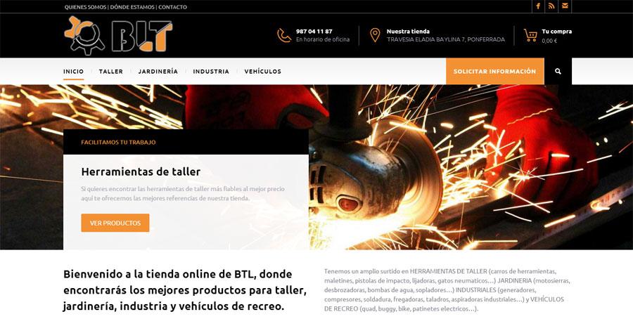 BLTrading abastece a toda España de maquinaria industrial a través de su nueva tienda online