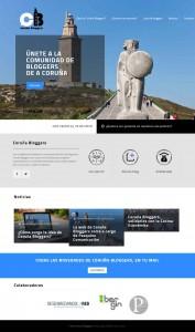 Web de Coruña Bloggers