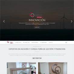 Web de la consultora financiera Gestión y Objetivos (A Coruña)