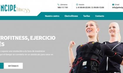 Diseño informativo para el nuevo centro de referencia de Vigo, Príncipe Fitness