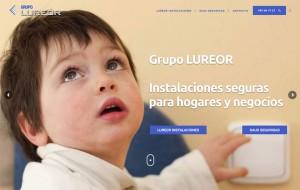 Grupo Lureor, empresa especializada en instalaciones eléctricas y de seguridad.