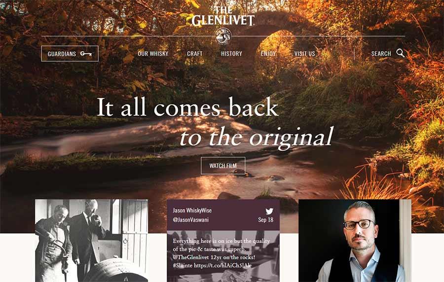 Glenlivet-comida
